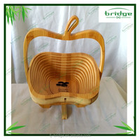 2015 cool and cute bamboo fruit container/basket