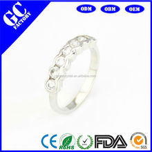 High quality silver jewelry, engagement ring, a large number of sold in Europe and the United States