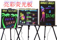 2015 hot new product Wholesale Illuminated led advertising light board fluorescent led outdoor advertising board for sale