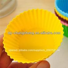la acción de dongguan silicona pop pastel moldes de silicona molde de la torta de silicona del molde de la torta