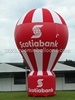 2015 Custom made inflatable advertising giant cold air balloon N2102