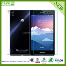 blue sexy film 0.20mm Hardness 9H Premium tempered glass screen protector for Huawei ascend