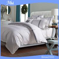 100% cotton hotel quality jacquard shiny turkish bedding set bed linen