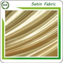 Hongway silk satin fabric wholesale, Wedding Decoration Ivory Satin Fabric