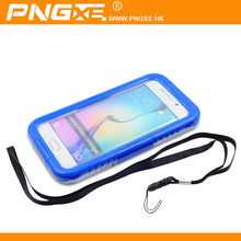 New Design Universal High Quality Mobile Phone Waterproof Case For Samsung Galaxy S6 edge