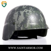 military camouflage helmet/bulletproof helmet with visor/safety helmet