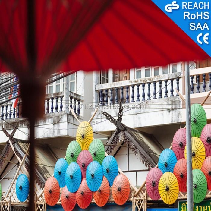 Ombrello cinese tradizionale, ingrosso ombrello, vacanza decorazione
