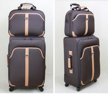 2015 Soft and comfortable Light Weight EVA Soft travel Luggage With Normal Lock