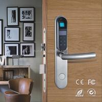 good quality electronic smart panke biometric fingerprint door lock
