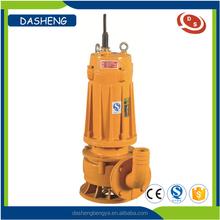 Vertical centrifugal submersible sewage water pump