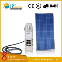 Solare sistema di pompaggio dc/dc pompe sommerse solari/acqua pompa solare/12v, 24v