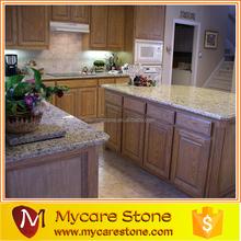 Giallo ornamental excellent qulity standard department kitchen room beautiful island countertop