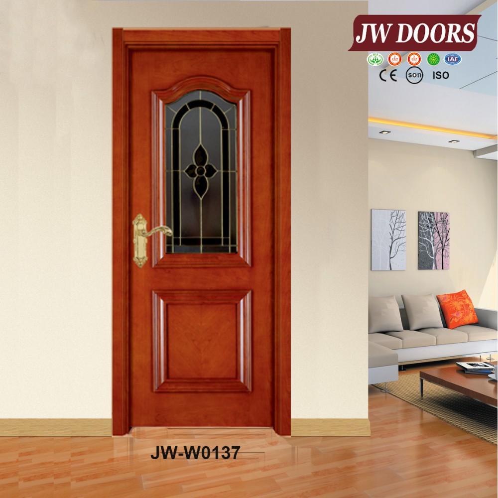 High quality teak wood main door models internal painting for Teak wood doors models