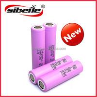 Fast shipping High drain rechargeable Samsung li ion battery 18650 3000mah