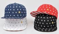 2015 Custom printed star design your own printing snapback hat