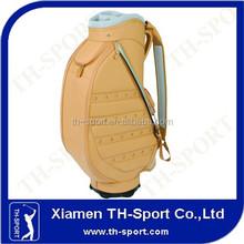 sale top quality OEM leather golf cart bag
