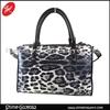 leopard print women hangbag/stylish shoulder bag/popular duffel bag