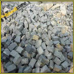 Stocked large qty black basalt stone for garden paving, Promotion china granite garden paving
