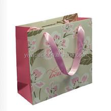 luxurious paper wine bag