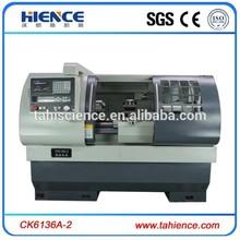 Torno de corte de la máquina contrapunto metal torno CNC horizontal CK6136A-2