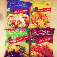 instant fried noodles 1.76 Ounce packages beef flavour