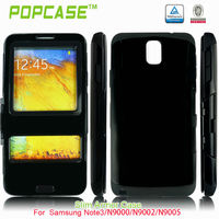 for samsung Galaxy Note 3 Plastic Flip case