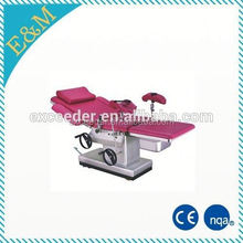 CE approved Multifunction Hydraulic Elevating Obstetric Table for Operating and Delivery