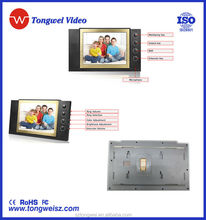 "8"" NEW design video door camera intercom with special screen and high resolution"