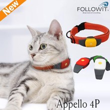 2014 Newest mini Pet GPS tracker for dog/cat Appello 4P Waterproof IPX7 Tracking on APP, no need to set by SMS anymore