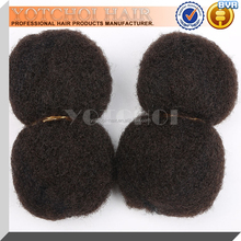 Tangle Free Grade 5A Afro Kinky Human Hair For Braiding