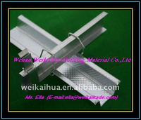 drywall metal components stud and track steel profile