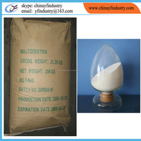 Food ingredients maltodextrin de 15-20