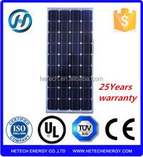 China market new products 90W mono solar panel price