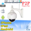 Outdoor Waterproof Security Wireless IP Camera Day Night View IR-CUT WIFI 15 Meter Night Vision And Free Factory ddns