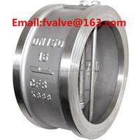 OEM JIS standard dual plate swing check valve