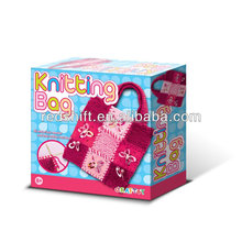 artigianale kit giocattolo moda maglieria kit borsa borsa fai da te