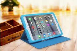 Professional Factory Supply waterproof and universal PU Leather case for ipad mini