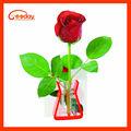 2013 venda quente flores artificiais em vasos