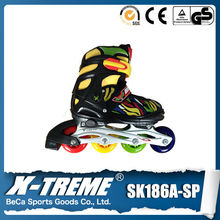 adjustable semi-soft quad roller wheels skate