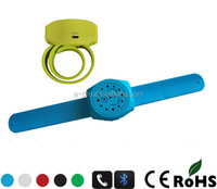 Watch shape portable wireless bluetooth speaker , handsfree for answering call