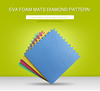 eva foam laminated floor mat plastic floor mat