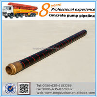 Best selling schwing concrete pumping hose in Greece