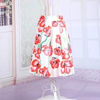 Bestdress.us 2015 Vintage High Waist Pleated Ball Gown Swing Skirt