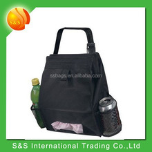 Portable lightweight durable trash bag for car