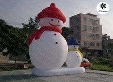 2015 hottest cheap inflatable Christmas decoration snowmen