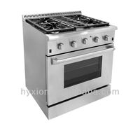 Professional heavy duty 4 burner gas range stoves for sale