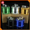 60mm Aluminium dry herbal crusher tobacco grinder with handle