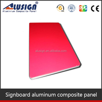 Hot sale aluminum composite panels for toilet signboard