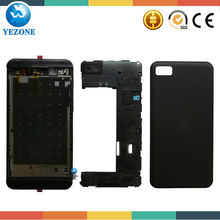 2014 Hot Sale Factory Black Color Original Full Housing Repair Parts For BlackBerry z10