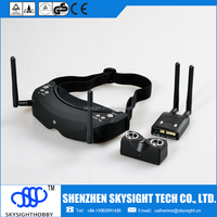FPV wireless All-in-one 3d 32ch 5.8Ghz video goggles sky02